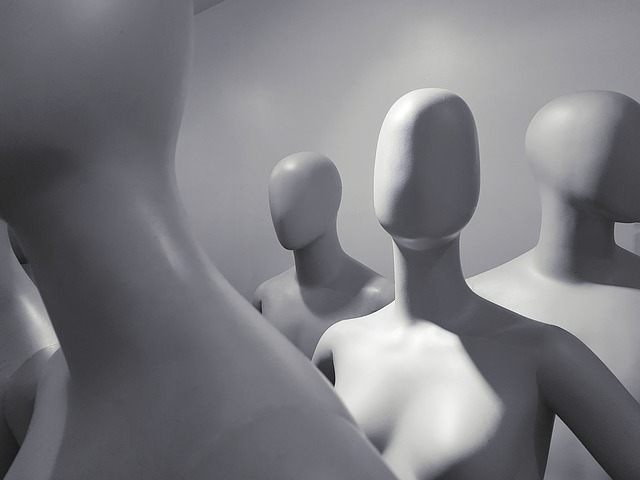 Mannequin, Alone, Women, Body, Virtual, Front