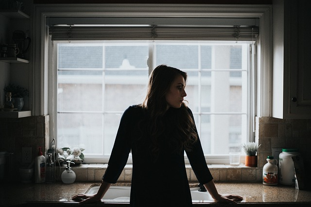 People, Girl, Alone, House, Interior, Inside