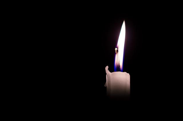 Candles, Dark, Light, Black, White, Alone, Still Alive