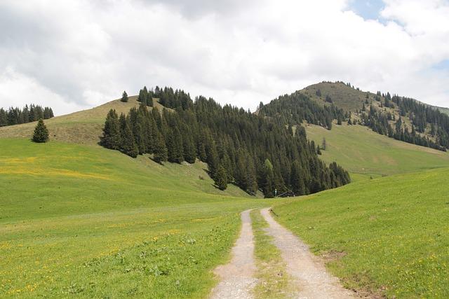 Landschaft, Berge, Alpen