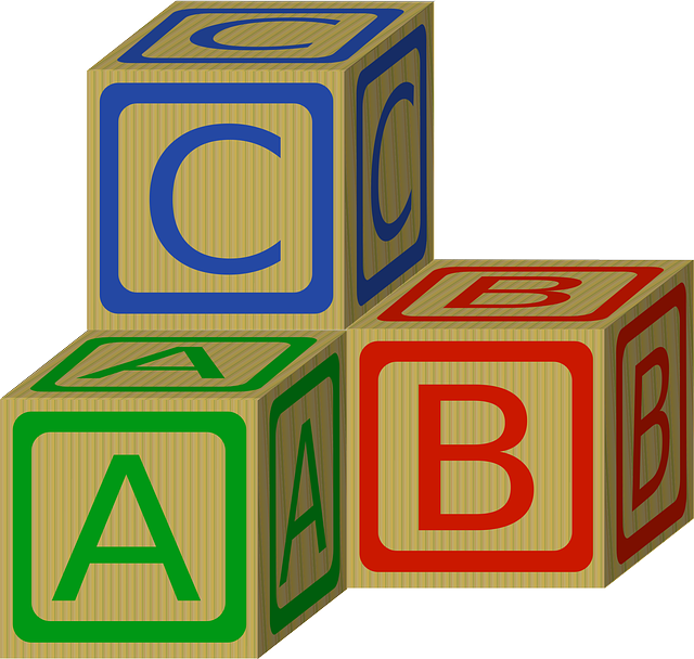 Blocks, Wooden, Toy, Alphabet, Letters, Lettered