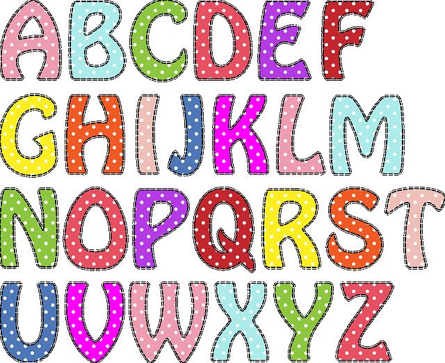 Alphabet Letters, Alphabet, Letters, Font, Text, Symbol
