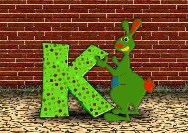 Letters, Abc, Education, Kangaroo, Alphabet, Literacy