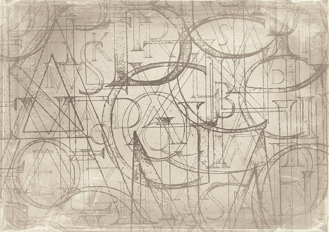 Background, Letters, Pattern, Old Fashioned, Alphabet
