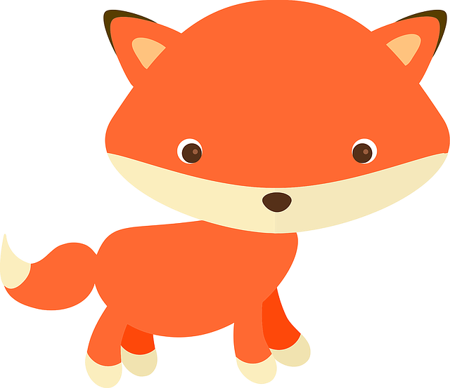 Adorable, Adorable Fox, Alphabet Word Images, Animals