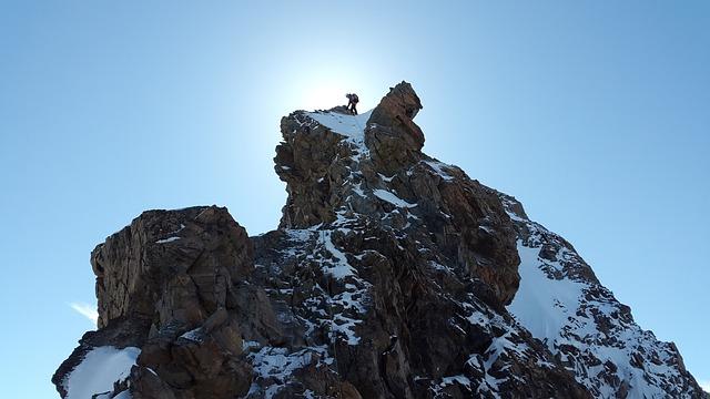 Climb, Alpine Climbing, Climber, Secure, Rock Climbing