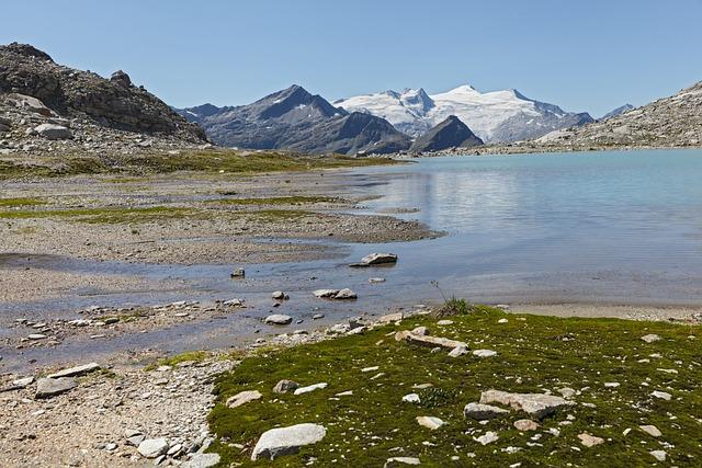 Alpine, East Tyrol, Dabersee, Großvenediger, Panorama