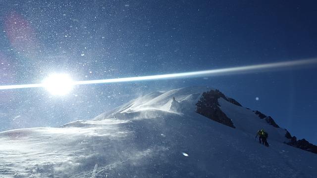 Mont Blanc, Blizzard, Forward, High Mountains, Alpine