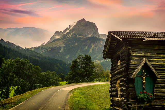 Alm, Alpine Hut, Hiking, Mountain, Travel, Nature, Sky