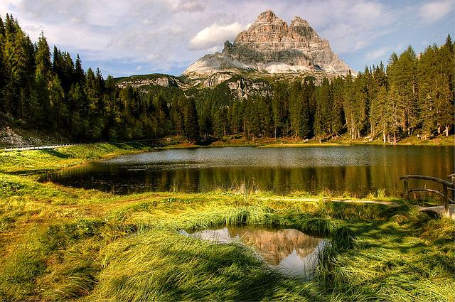 Misurina, Dolomites, Landscape, Mountain, Italy, Alpine