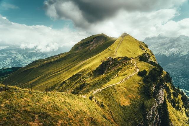 Mountain, Nature, Alpine, Landscape, Summit