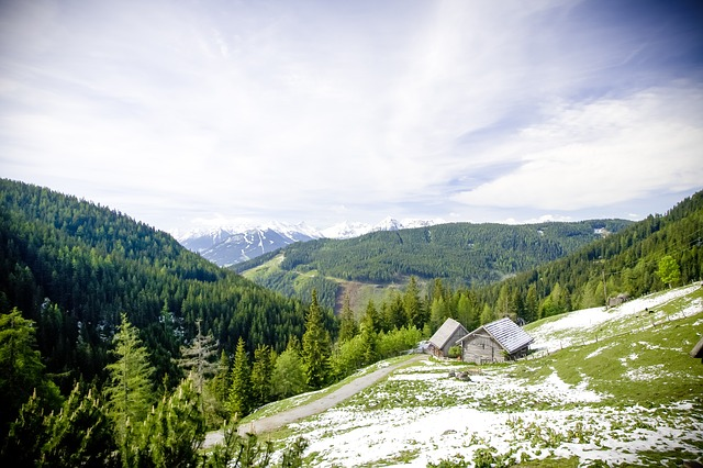 Alpine, Mountain, Mountains, Landscape, Mountain Hut