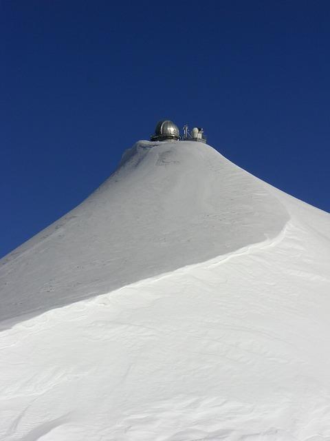 Sphynx, Mountains, Snow, Blue White, Alpine