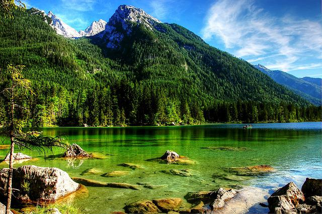 Ramsau, Hintersee, Alpine, Nature, Berchtesgaden