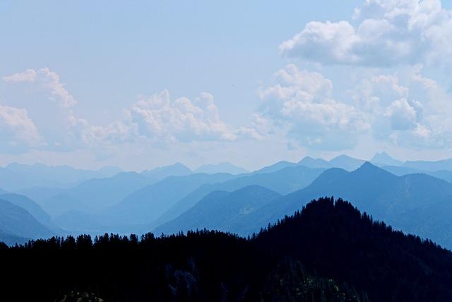 Alpine, Germany, Panorama, Mountain Summit, Atmospheric