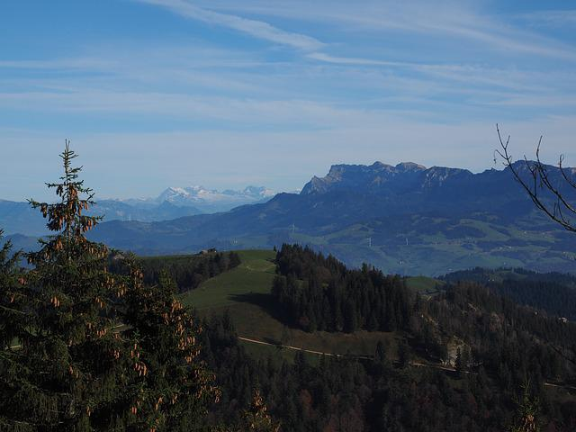 Alpine, Alpine Panorama, Pilatus, Massif, Switzerland