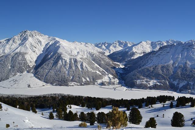Winter, South Tyrol, Crispy, Reschensee, Lake, Alpine