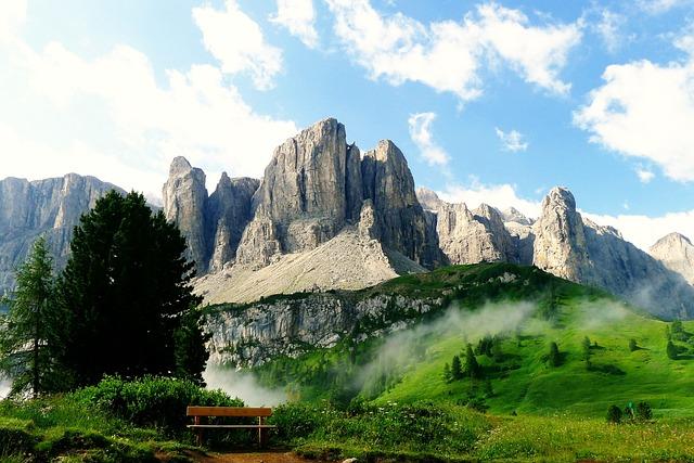 Mountains, South Tyrol, Dolomites, Alpine, Landscape