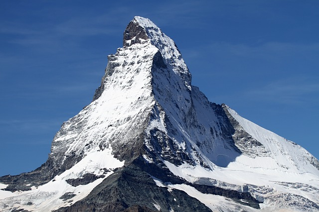 Matterhorn, Zermatt, Switzerland, Snow, Alpine