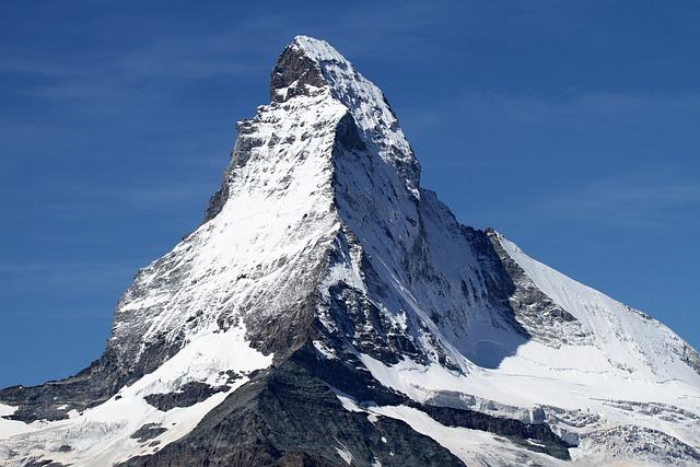 Matterhorn, Zermatt, Switzerland, Snow, Alpine