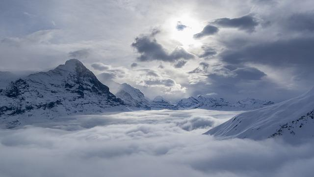 Grindelwald, Eiger, Switzerland, Mountains, Alpine