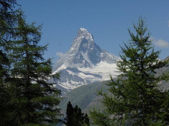 Matterhorn, Valais, Switzerland, Zermatt, Alpine