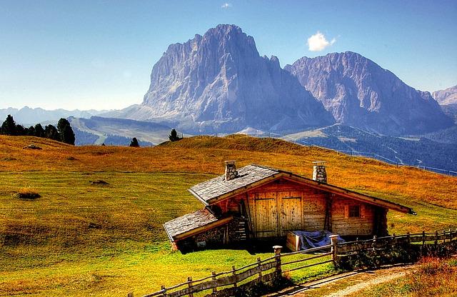 Dolomites, Mountains, Italy, South Tyrol, View, Alpine