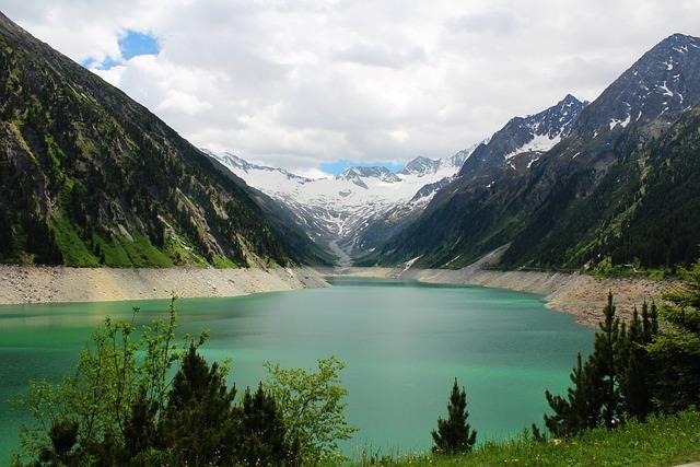 Mountain Lake, Mountain, Alpine Scenery, Nature, Alps