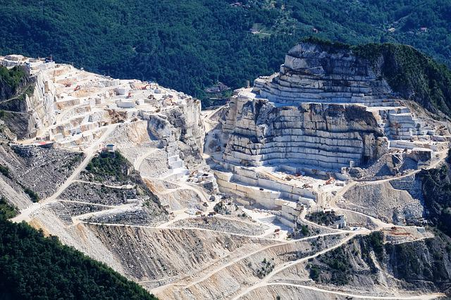 Tuscany, Quarry, Marble, Apuane, Carrara, Alps