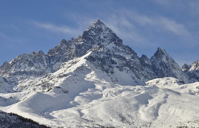 Mountains, Alps, Snow, Monviso, Nature, Landscape