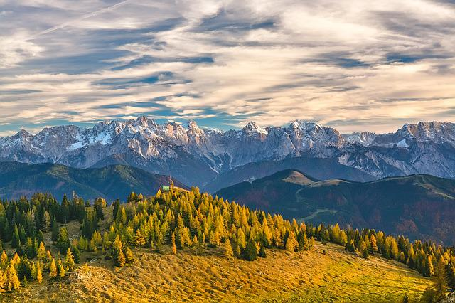 Mountains, Alps, Trees, Mountain Ranges, Austria