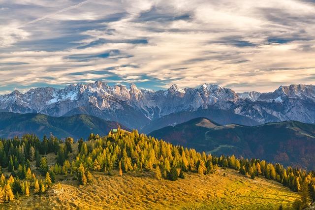 Mountains, Alps, Trees, Mountain Ranges, Austria