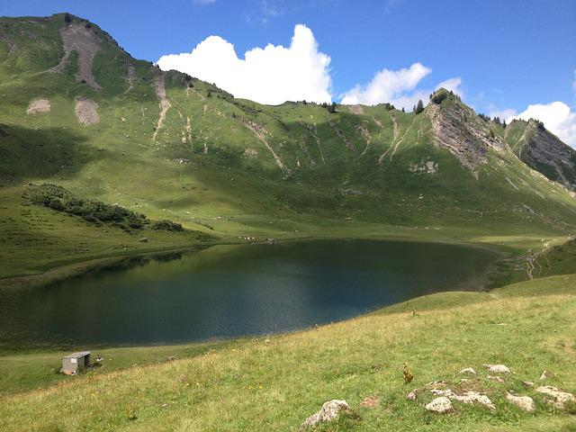 Lac, France, Water, Lake, Landscape, Nature, Alps