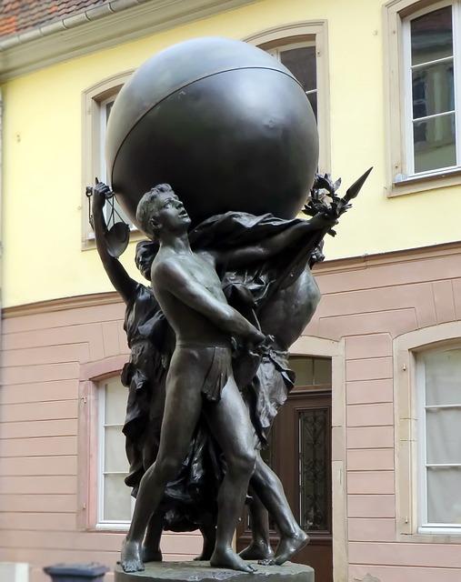 Alsace, Colmar, Bartholdi, Sculpture, Bartholdi Museum