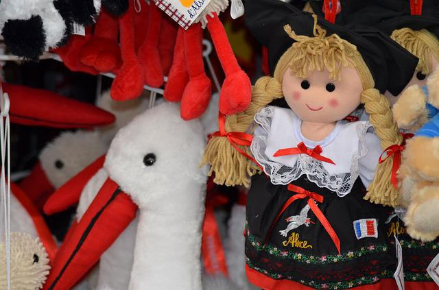 Alsace, Doll, Alsatian Doll, Traditional Costume