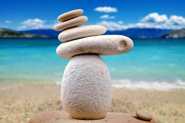 Stones, Zen, White, Spa, Alternative, Close, Pebble