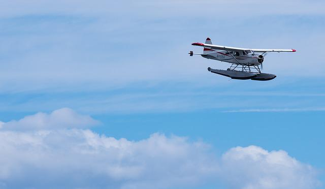 Seaplane, Sky, Vacation, Altitude