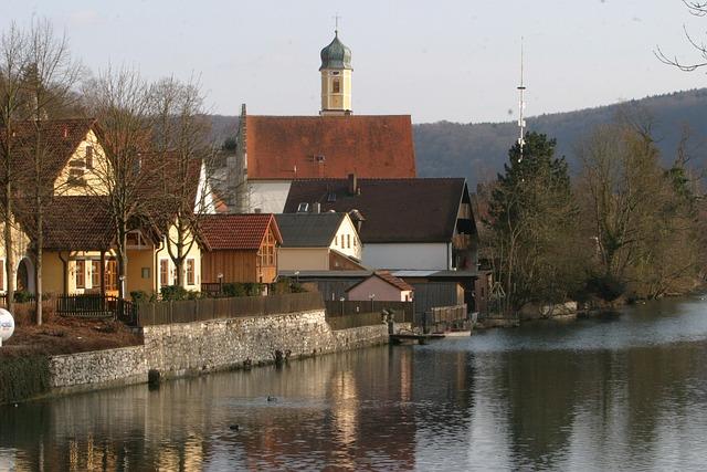 Altmühltal Nature Park, Altmühl, Altmühl Valley, Essing