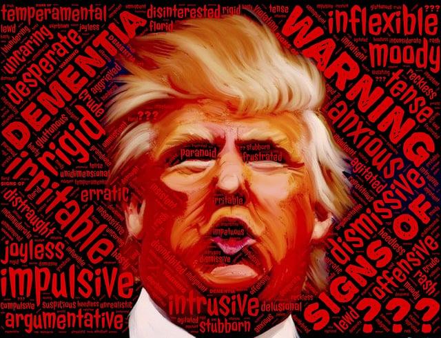 Dementia, Warning, Trump, Donald Trump, Alzheimers