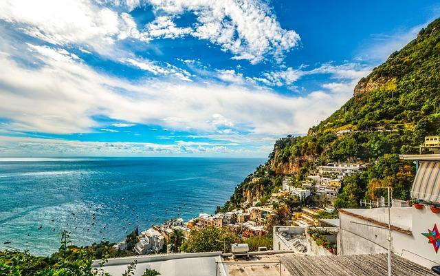 Amalfi, Coast, Sorrento, Positano, Italy, Sea