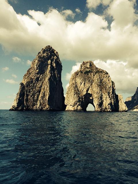 Capri, Italy, Mediterranean, Amalfi
