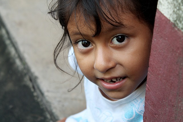 Girl, Island, Amapala, Honduras
