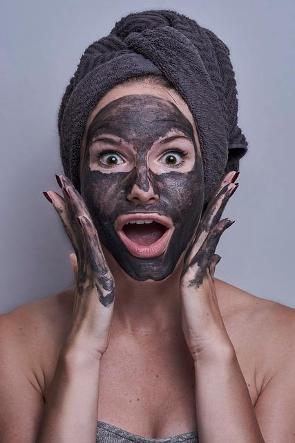 Woman, Portrait, Facemask, Scared, Amazed, Eyes, Mask