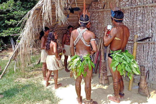 Amazon Indians, Rainforest, Brazil, Tropig, Nature
