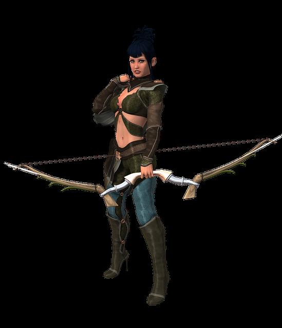 Woman, Arch, Archery, Amazone, Pride, Fantasy, Heroine