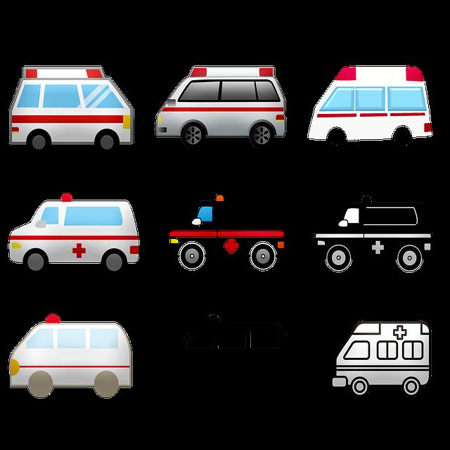 Ambulance, Emergency, Hospital, Paramedic, Siren