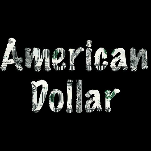 Word, America, American Money, American Money Word