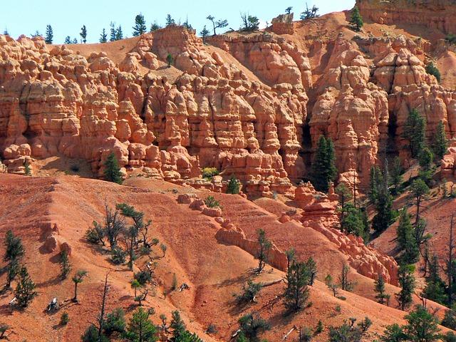 Usa, Bryce Canyon, Landscape, America