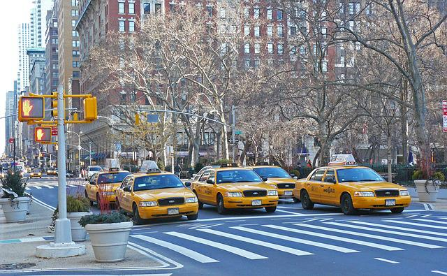 Nyc, New York, Taxi, America, Symbol, City, Street
