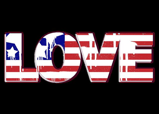 Usa, Us Flag, Love, Spray Paint, Patriotic, America